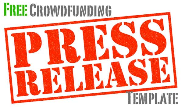 Jaanus 39 newsletter featuring free crowdfunding press for App press release template
