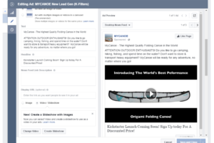 how to write compelling facebook ads for your crowdfunding campaign